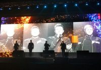 """Westlife Tebar """"Spectrum"""" di Stadion Gelora Sriwijaya Jakabaring Palembang"""