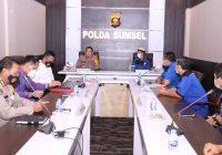 Jenderal Eko Indra Sambut Hangat FSPPP Sumsel