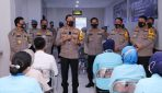 Buka Vaksinasi Nakes RS Bhayangkara