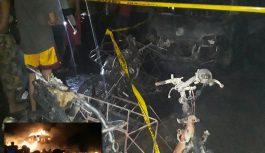 Depot Minyak Mentah Terbakar, Hanguskan 11 Rumah Warga