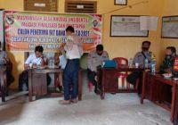 Kawal Musdes di Desa Tanjung Kukuh