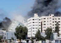 Kantor Media Internasional Dibom Israel