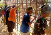 Wujud Karya Bakti TNI, Rehab Rumah Tak Layak Huni