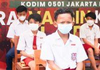 Apresiasi Anak-anak yang Ikut Vaksin