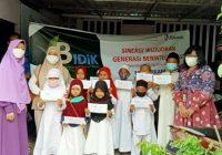 Kanwil DJPb Sumsel dan Salimah Santuni 105 Anak Yatim