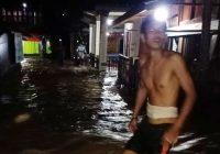 Sungai Ogan Meluap, Banjir Rendam 140 Rumah Warga OKU